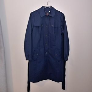 Isaac Mizrahi Water Resistant Trench Coat NWOT